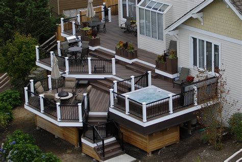 Multi Level House Plans by Deck Pictures And Ideas
