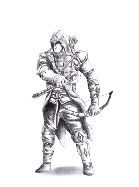 Kaos Fullprint Assassin S Creed assassin s creed 3 connor by feakry on deviantart