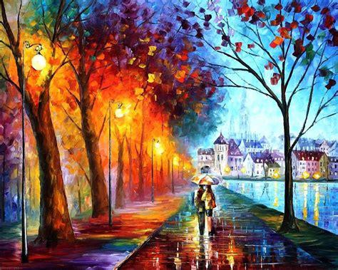 rain couple wallpaper hd couple rain umbrella rain painting wallpaper best hd
