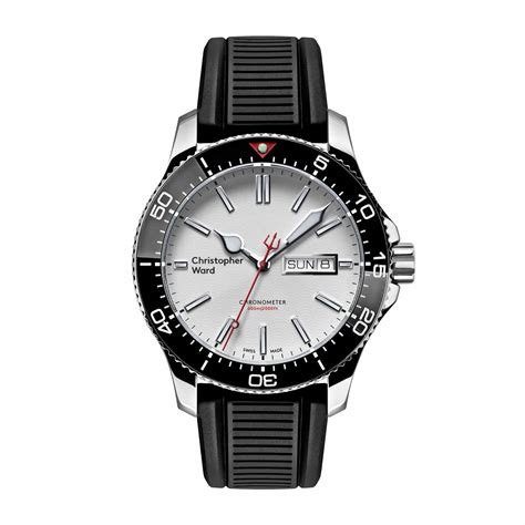 limited edition rubber sts christopher ward launches two new limited editions