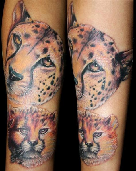 cheetah face tattoo 50 rocking cheetah print ideas amazing ideas