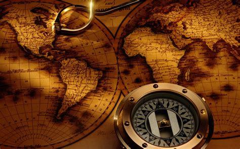 themes golden compass map hd wallpapers free download wallpaper dawallpaperz