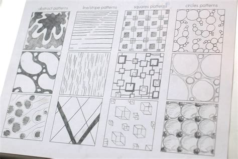 pattern in art lesson plan today s art lesson pattern development