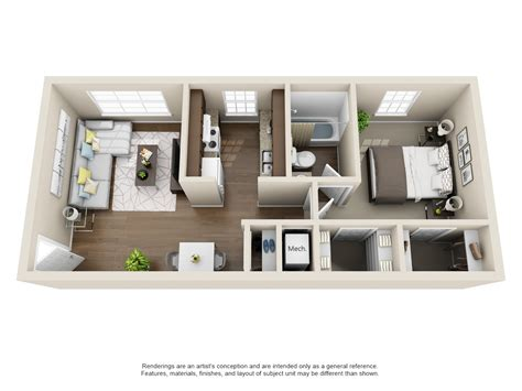 Buy A 1 Bedroom Flat In by Floorplans 400 Townhomes
