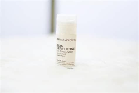 Skin Perfecting 2 Bha Liquid Exfoliant Sachet paula s choice bha exfoliant the skin perfecting solution thatneongirl