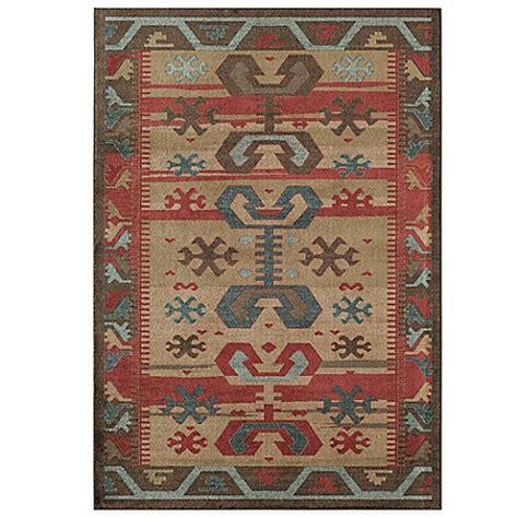 aztec design rugs rugs america ziegler aztec rug in multicolor bedbathandbeyond