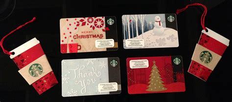 starbucks christmas gift cards christmas cards ideas