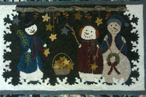 searsport rug hooking 17 best images about rug hooking snowmen on hooked rugs wool and hooks
