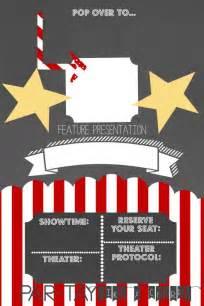 best 25 movie party invitations ideas on pinterest 13