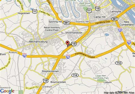 map of courtyard by marriott harrisburg west mechanicsburg