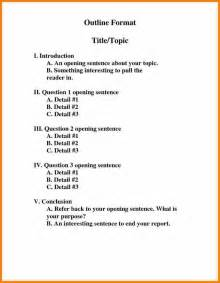 Mla Format Outline Template by 3 Mla Format Outline Exles Mileage Tracker Form