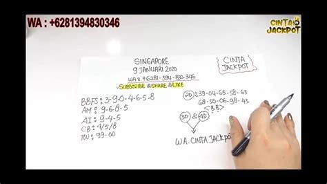 prediksi angka singapore jitu periode  januari  youtube