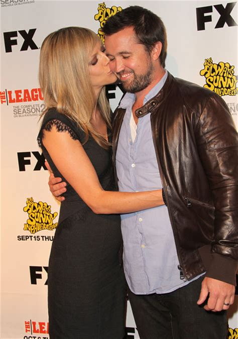 Kaitlin Olson and Rob McElhenney Photos Photos   Premiere