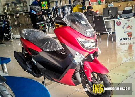 2017 Yamaha NMax 155 spotted in new colour in Indonesia