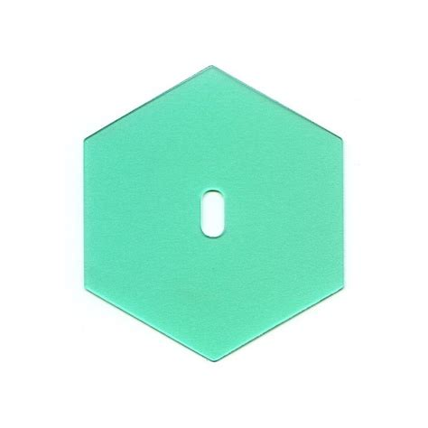 Plastic Hexagon Templates hexagone plastic templates by clover la couserie cr 233 ative