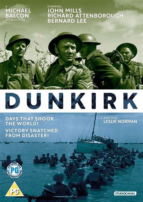 film dunkirk john mills dunkirk 1958 pg evening romsey film festival at