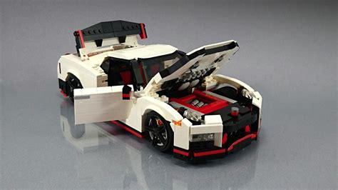 Build Your Own Nissan Gtr Nissan Gt R Nismo Fan Creates His Own Lego Masterpiece