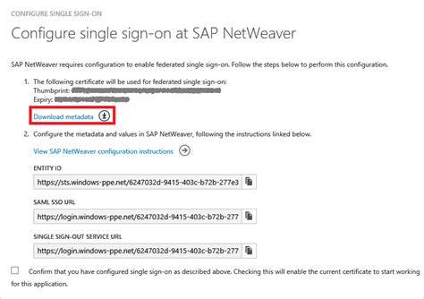 tutorial sap netweaver tutorial azure active directory integration with sap
