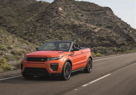 convertible land rover cost 2017 range rover evoque convertible price specs review