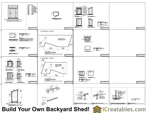 4x6 Shed Plans by Now Is 4 X 6 Shed Plans Haddi