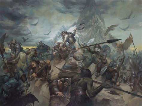 Last Stand the last stand of thorin oakenshield by lucasgraciano on