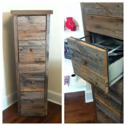 Diy File Cabinet Diy Reclaimed Wood File Cabinet From Quot Creating The Home Office Files And Organizers