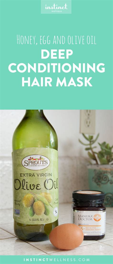 Weekly Or Biweekly Conditioning Hair Mask by Honey Egg And Olive Create A Conditioning Hair