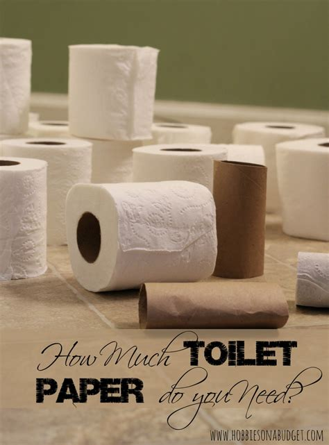 I Need Toilet Paper by How Much Toilet Paper Do You Need Hobbies On A Budget
