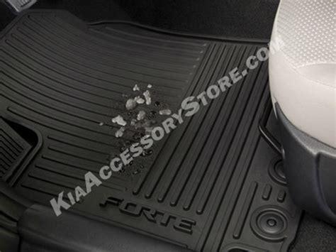 Kia Forte Floor Mats Genuine Kia Forte Forte 5 All Weather Mats Set Of 4 Ebay
