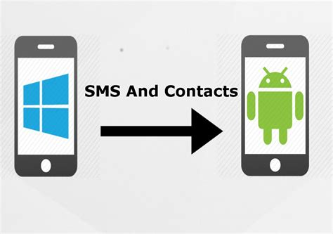 how to from to android how to transfer sms messages and contacts from windows phone to android phone