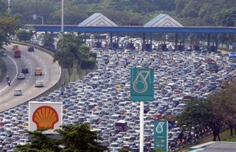 traffic in penang during new year error