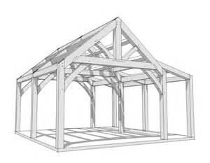 20x20 Timber Frame Plan Timber Frame Hq Timber Frame House Construction Plans