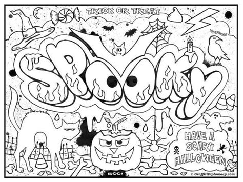 graffiti styles coloring pages printable graffiti challenging coloring page for teenagers