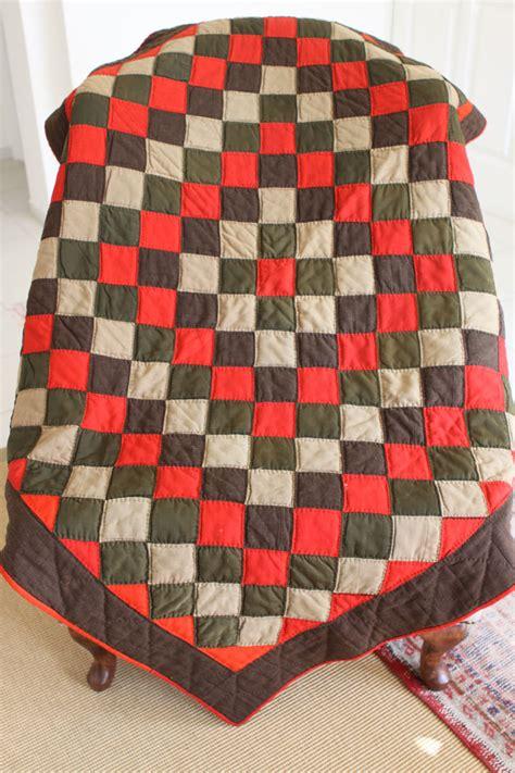 Antique Amish Quilts by Antique Amish Woolen Quilt