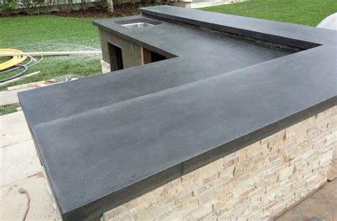 Outdoor Kitchen Concrete Countertop by Outdoor Kitchen Concrete Countertops Other Options