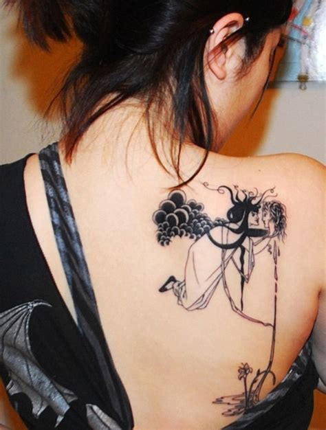 35 groovy upper back tattoos creativefan