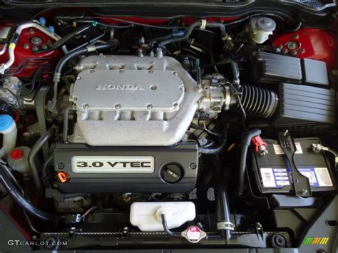 2003 Honda Accord Engine by 2003 Honda Accord Ex V6 Coupe 3 0 Liter Sohc 24 Valve Vtec
