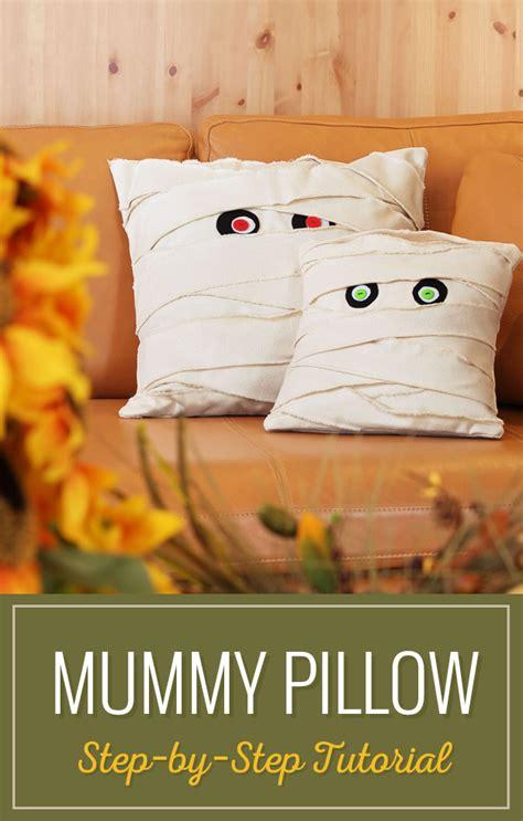 The Mummy Pillow mummy pillow tutorial sewing