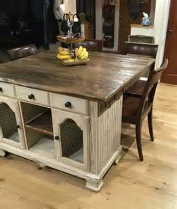 kitchen island rustic from buffet to rustic kitchen island hometalk