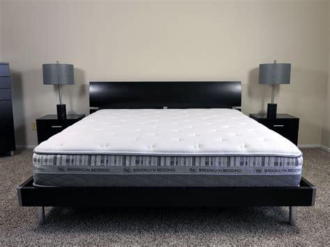 brooklyn bedding brooklyn bedding mattress review sleepopolis