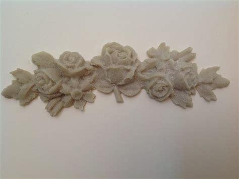shabby vintage chic french provincial furniture applique rose garland medium