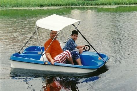 pedal boat calgary gentle handholding aquatic transportation awesomeness