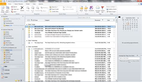 Outlook 2010 Not Searching Emails How To Configure Gmail Account For Microsoft Outlook 2010 Techrena