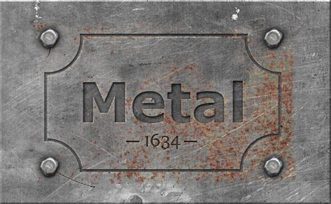 metal engraved mockup engraved metal text style photoshop tutorial photoshop