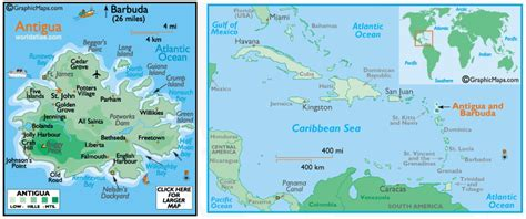 antigua map image list of rivers antigua and barbuda