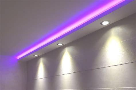 rigipsdecke mit indirekter beleuchtung indirekte beleuchtung decke stuck hause dekoration ideen