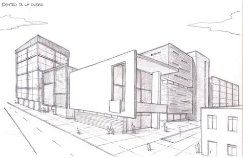 17 dibujos de casas arquitectura de casas perspectiva pinterest perspective croquis and composicion con dos puntos de fuga buscar con google