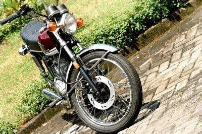 Sein Cb100 modif honda cb 100 classic oto trendz
