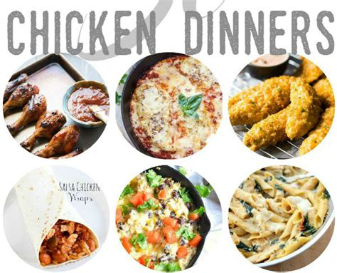 30 delicious chicken dinner recipes a little claireification
