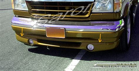 custom ford econoline van front bumper  styles front